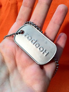 rodeoh dogtag